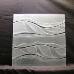 textured pattern engraved glass
