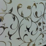 engraved mirror design