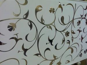 engraved mirror design