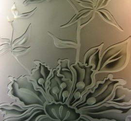 frosted glass panel design